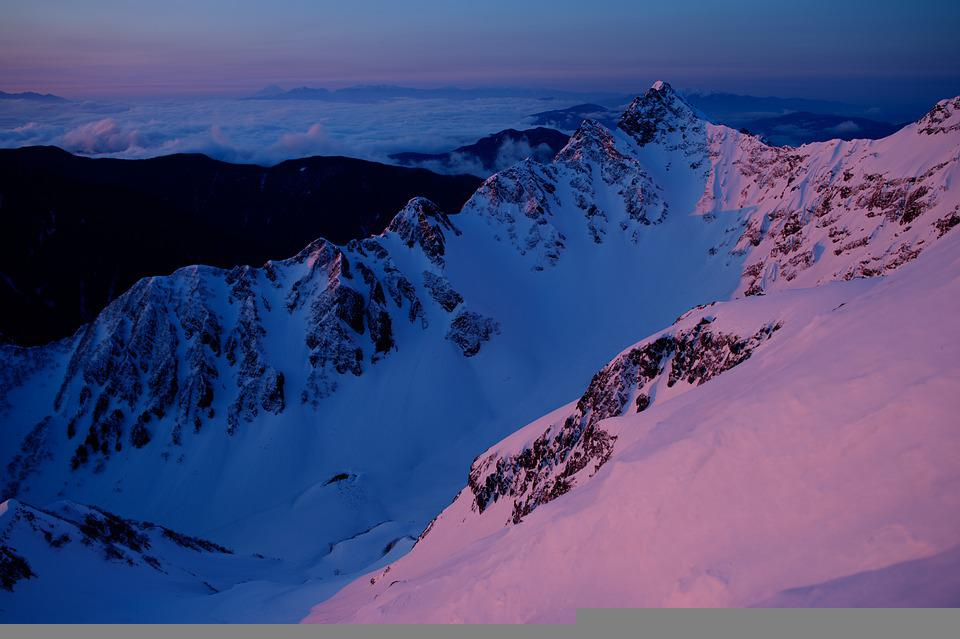 Mountains, Snow, Peak, Summit, Snow Mountains, Snowy