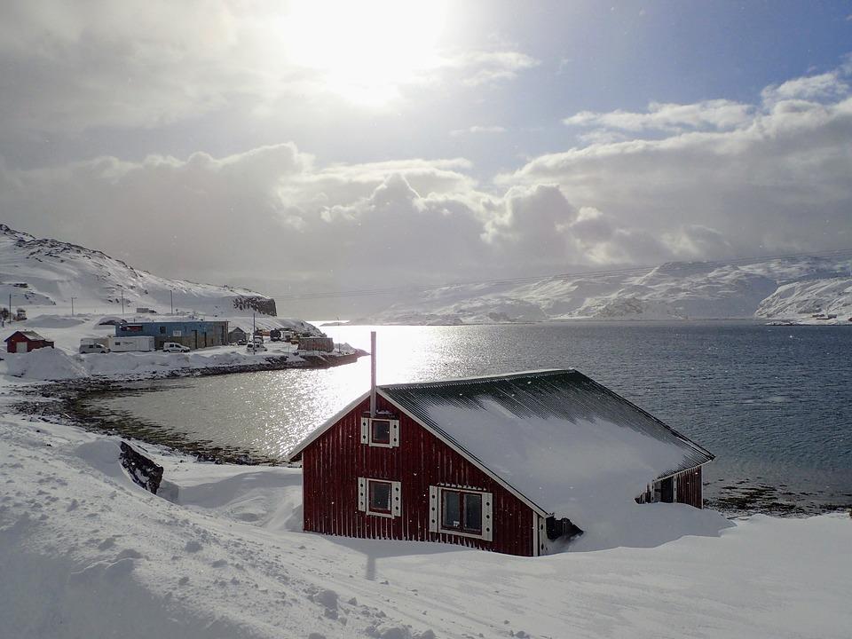 Snow, Winter, Outdoor, Nature, Ice, Finnmark, Norway