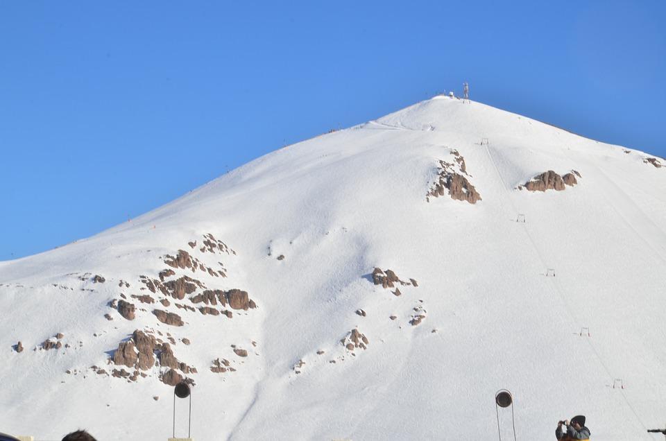 Snow, Mountain, Nature