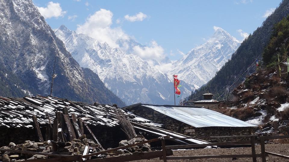Snow, Mountain, Panorama, Nature, Winter, Nepal