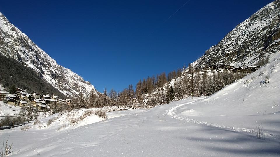 Snow, Mountains, Landscape, Winter, Nature