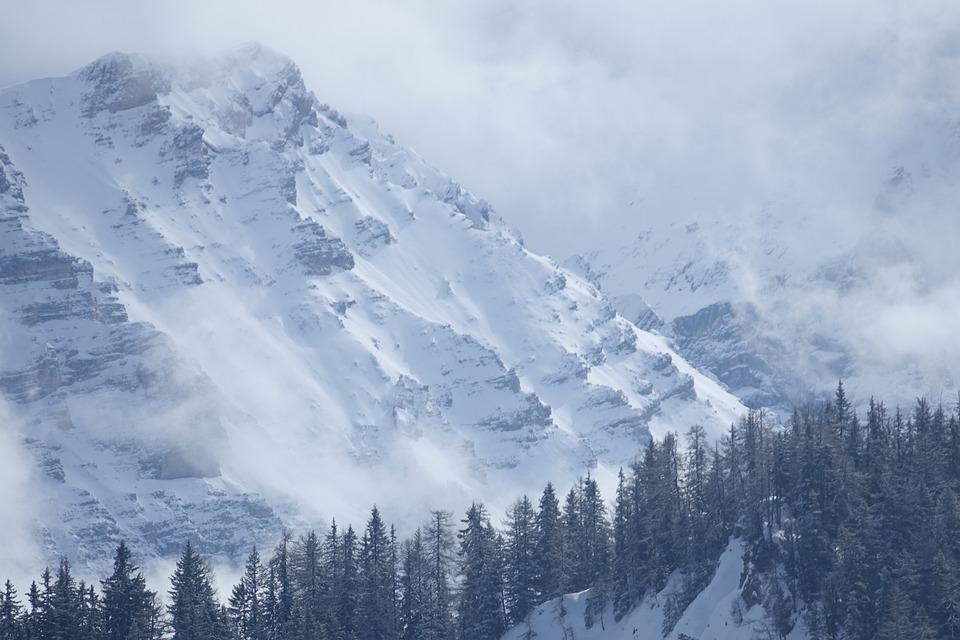 Snow, Mountain, Winter, Nature, Panoramic, Dolomites