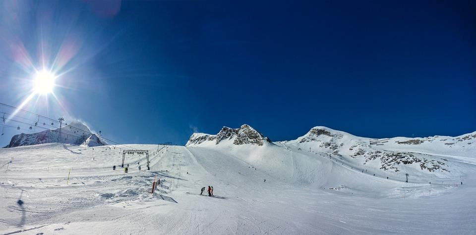 Panorama, Kitzsteinhorn, Snow, Winter, Cold, Mountain