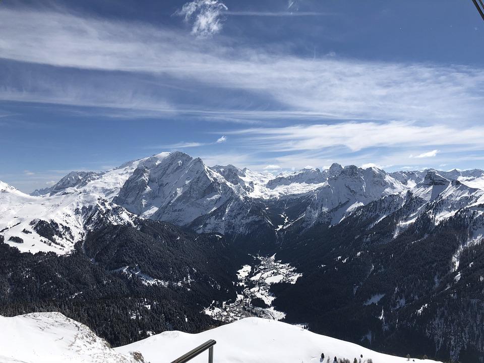 Snow, Mountain, Winter, Panoramic, Ice, Ski, Sellaronda