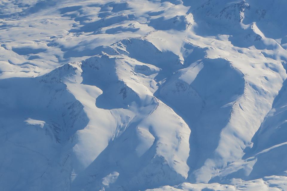 Snowy Mountains, Snow, Ice, Winter, Panoramic, Nature