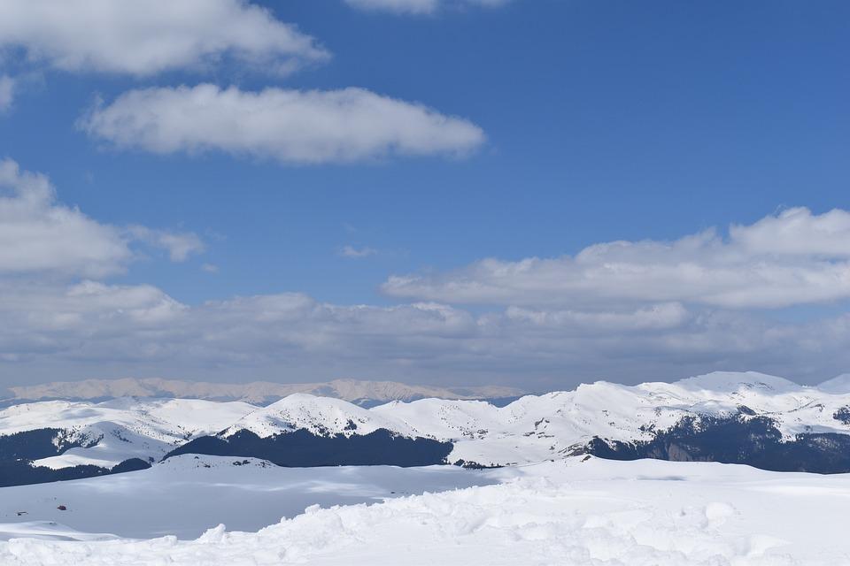 Mountains, Snow, Summit, Snowy, Winter, Peak