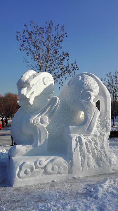 Snow Pillbox, North-east, Harbin