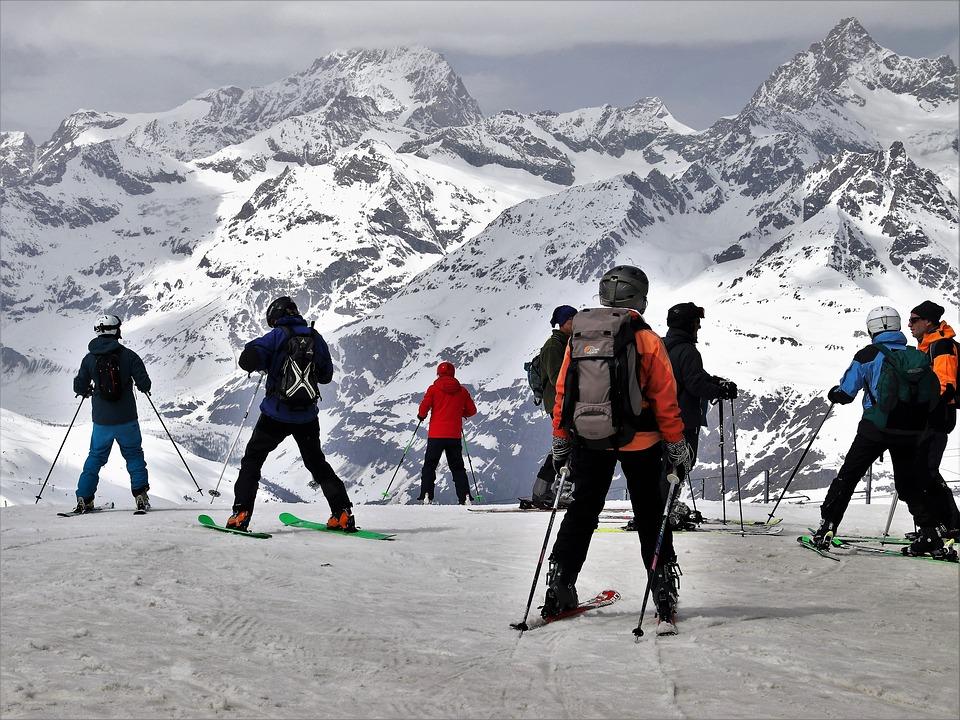Ski, Zermatt, Ski Slope, Skiers, Winter, The Alps, Snow