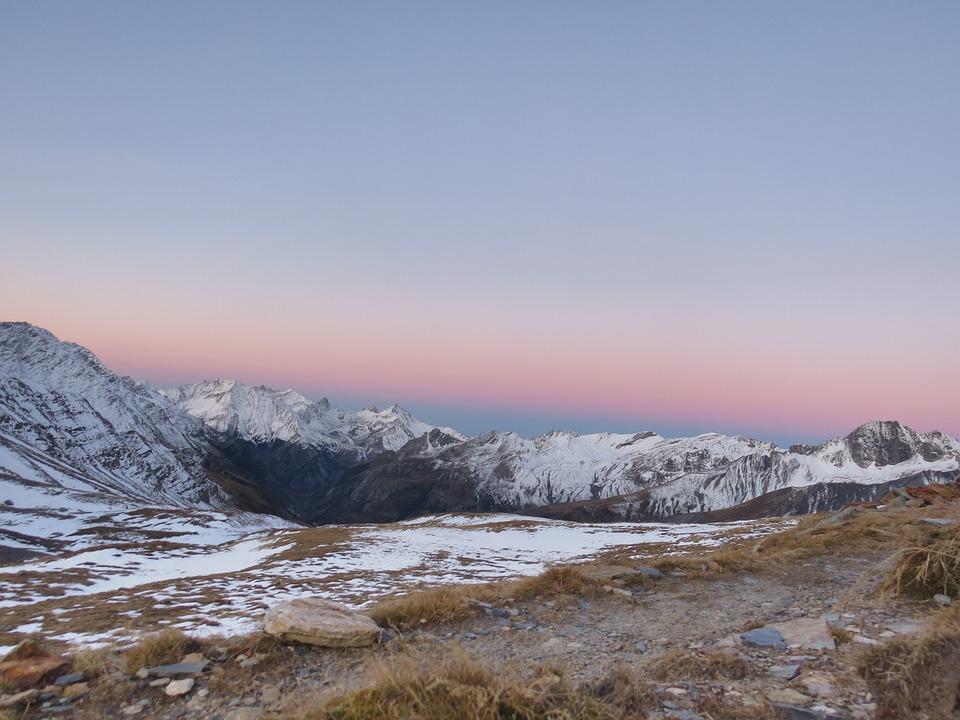 Snow, Mountain, Nature, Landscape, Sky