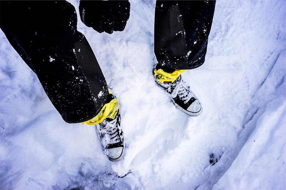 Shoes, Sneakers, Snow