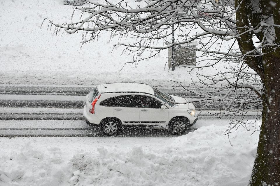 Snow Storm, Snow, Blizzard, Winter, Storm, Snowfall