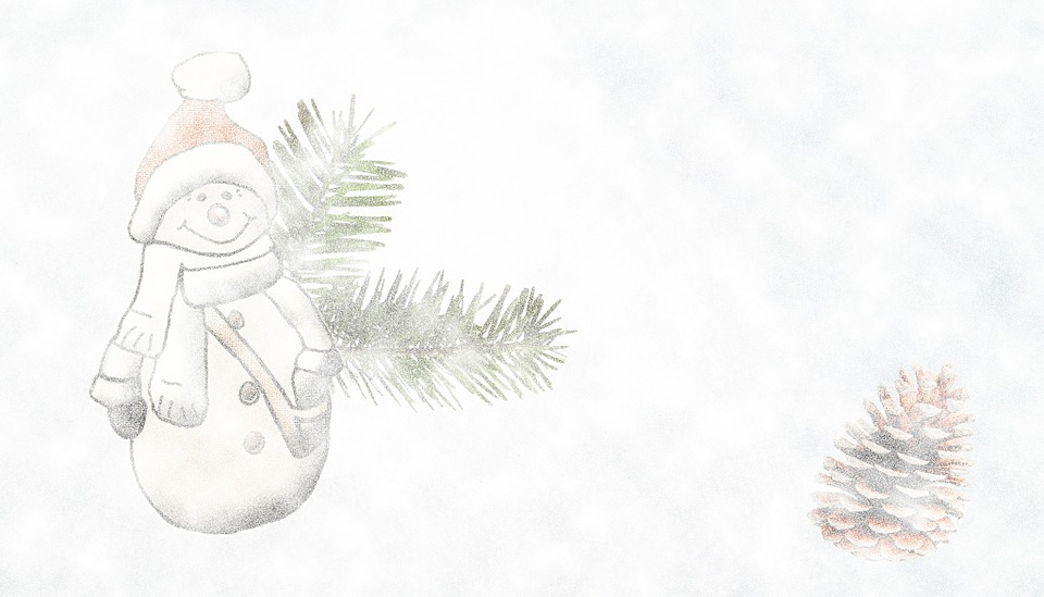 Snow Man, Advent, Snow Storms, Background, Hell, Snow
