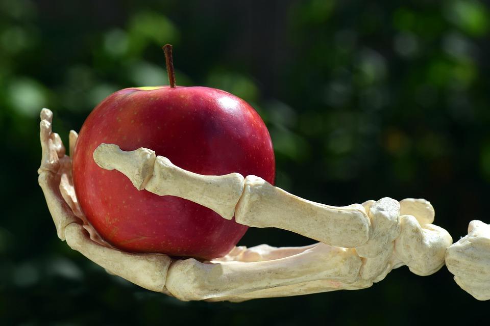 Apple, Hand, Bone, Snow White, Poison, Toxic Apple