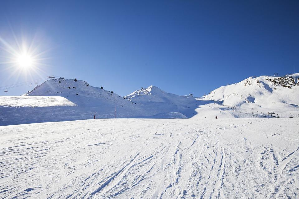 Snow, Mountain, Ski, Andorra, Nevada, White, Top