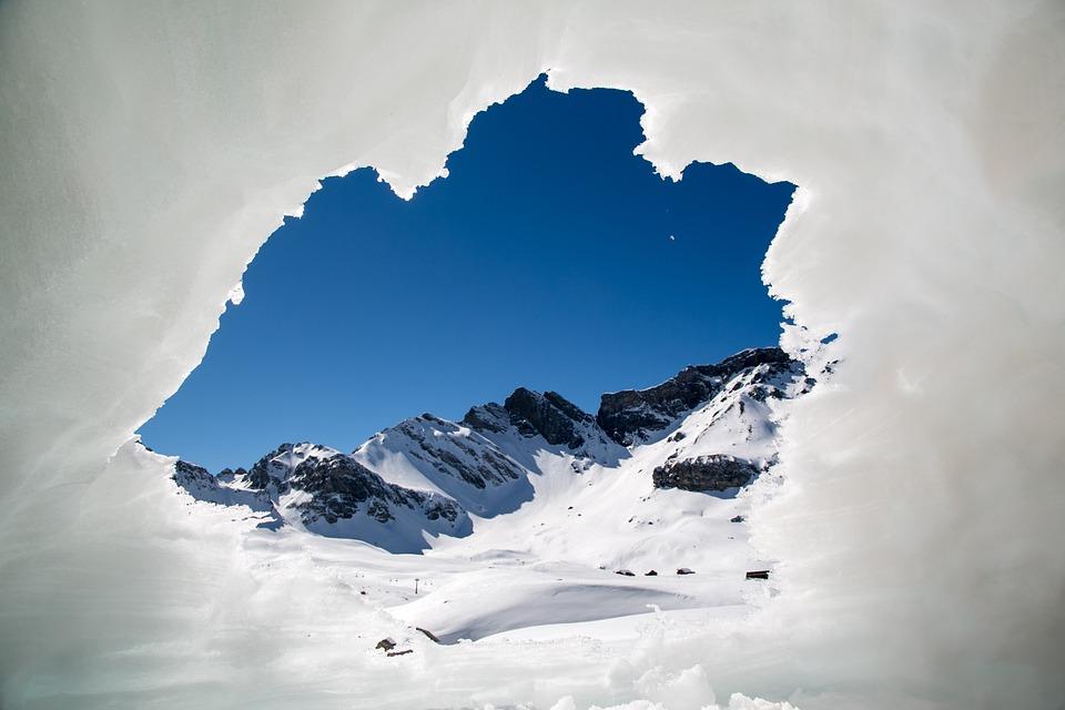 Winter, Mountains, Snow, Alpine, Ice, Switzerland