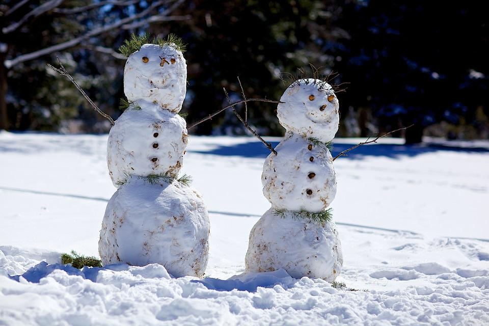 Snowman, Winter, Snowmen, Holiday, Snow, Season, Cold