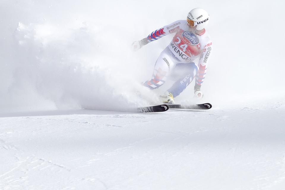 Ski Race, World Cup, Sport, Man, Speed, Snow