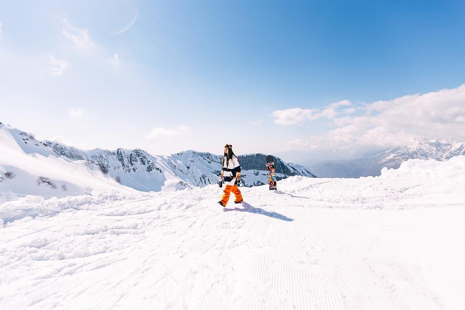 8ec188500b80 Free photo Snowboarder Snowboard Extreme Sports Girl Winter - Max Pixel