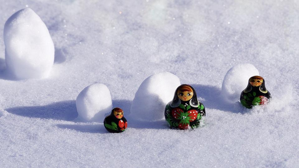 Winter, Snow, Cold, Season, Snowflake, Dolls