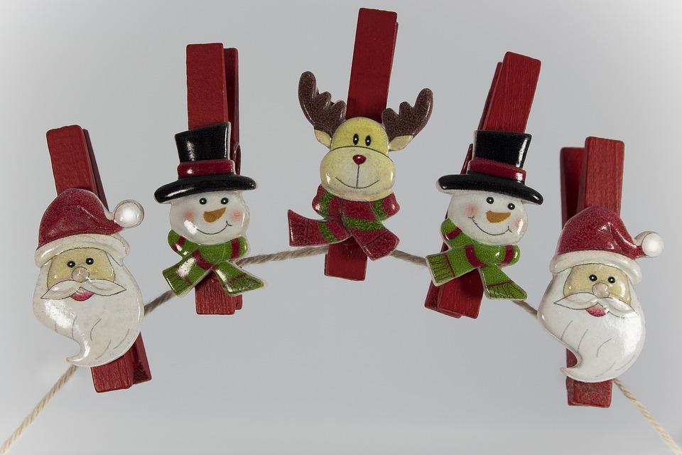 Christmas, Nicholas, Snowman, Reindeer