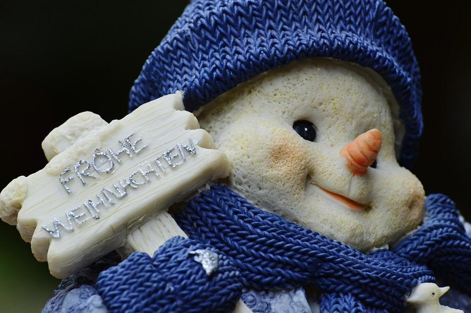 Winter, Snow Man, Fig, Snow, Snowmen, Wintry, Deco