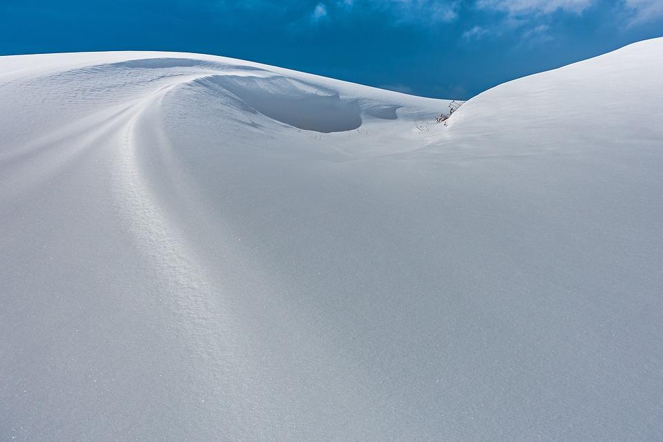 Snow, New Zealand, Snowdrift, Snowy, Wintry