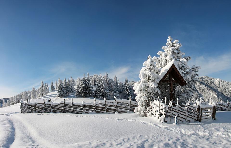 Winter, Snow, Snowy, Landscape