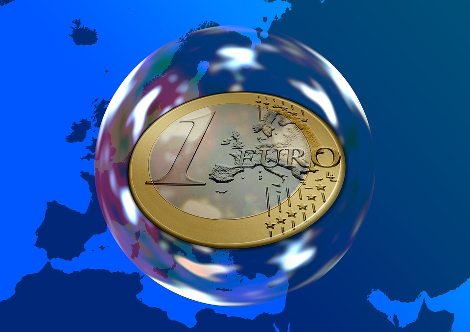 Euro, Money, Currency, Europe, Soap Bubble