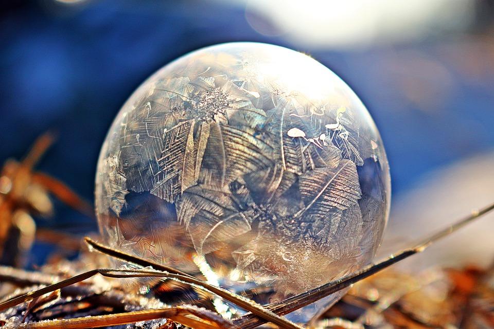 Soap Bubble, Ice-bag, Frost Blister, Frozen Bubble