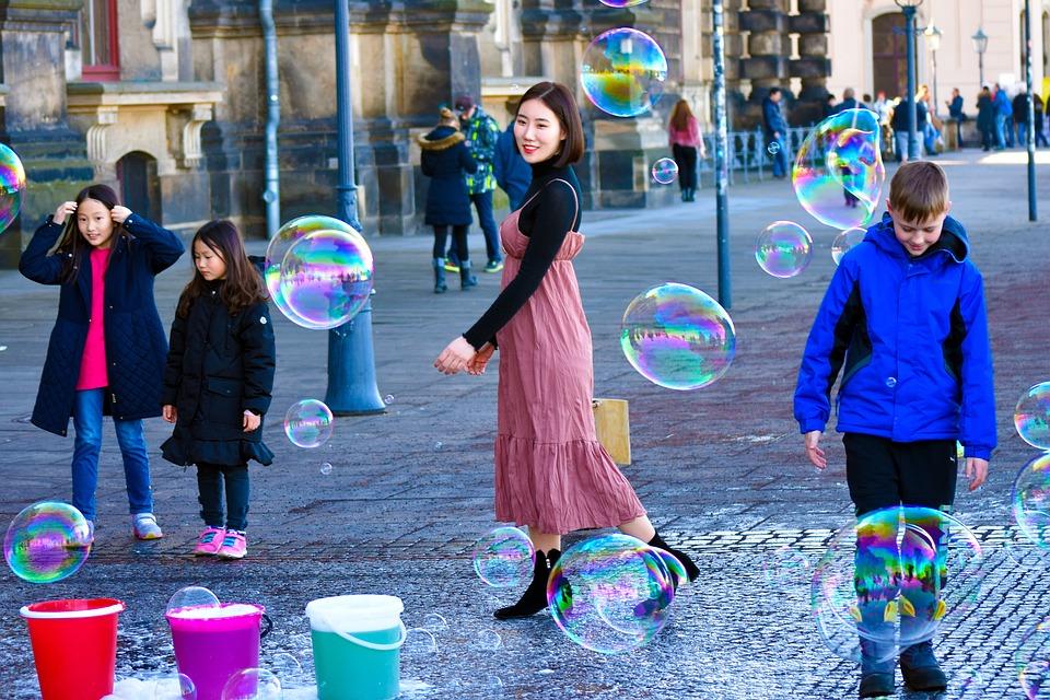 Happy Young, Soap Bubbles, Tourism