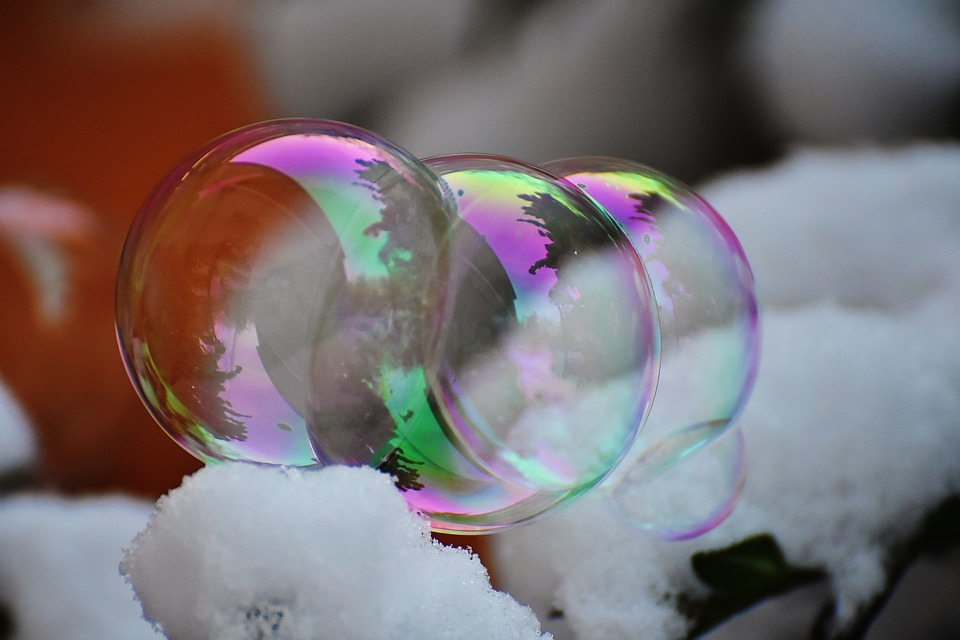 Soap Bubble, Colorful, Balls, Soapy Water