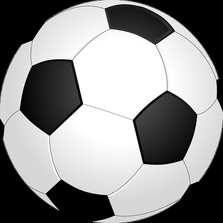 Football, Ball, Sport, Soccer, Round, Black, White