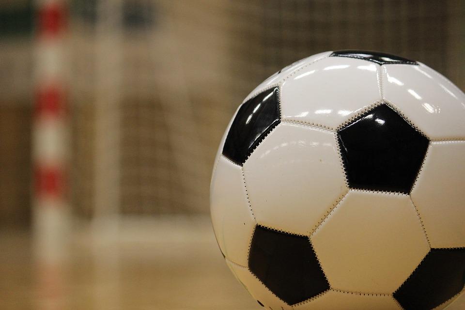 Ball, Soccer, Training, Goal, Hall, Halgulv