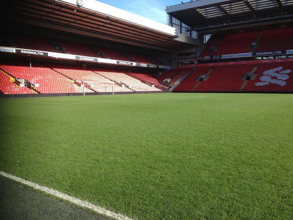 Football, Stadium, Grass, Soccer, Sport, Turf