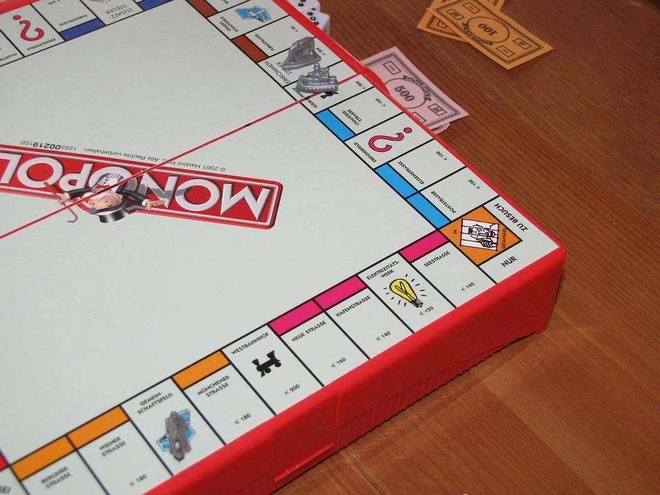 Monopoly, Play, Sociable, Board Game