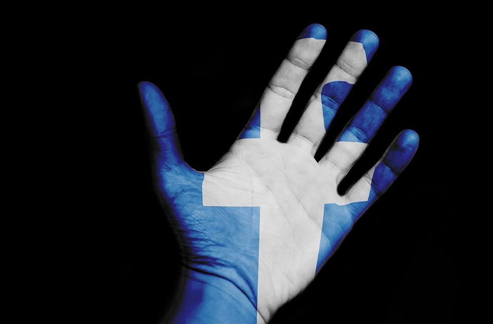 Facebook, Hand, Social Media