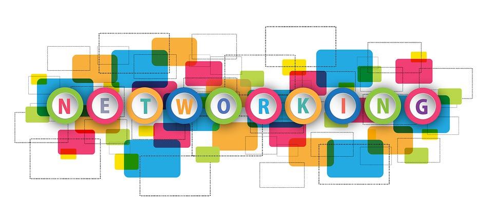 Networking, Banner, Internet, Social Media, App