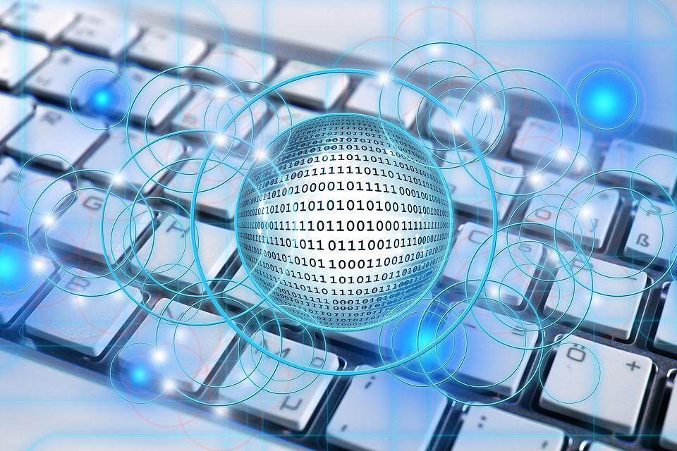 Keyboard, Networks, Internet, Social, Social Network