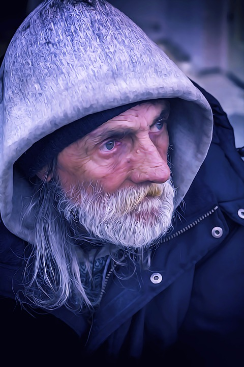 Homeless, Male, Color, Poverty, Social, Person