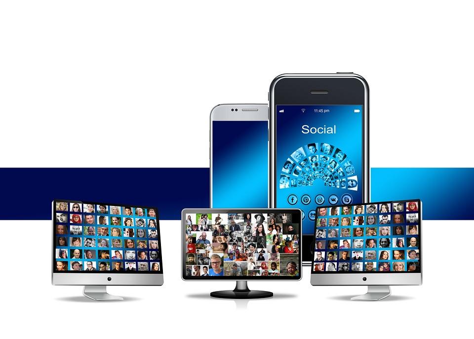 City, Skyline, Community, Social, Media, Smartphone
