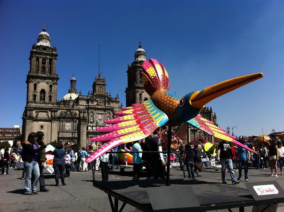 Socket, Mexico City, Historic Centre, Zocalo, Alebrije