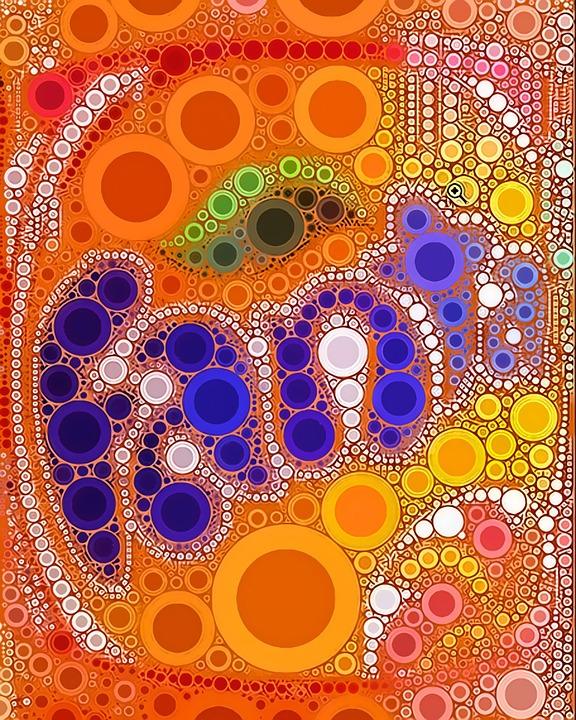 Soda, Circles, Color, Drink, Symbol, Cola, Orange Color