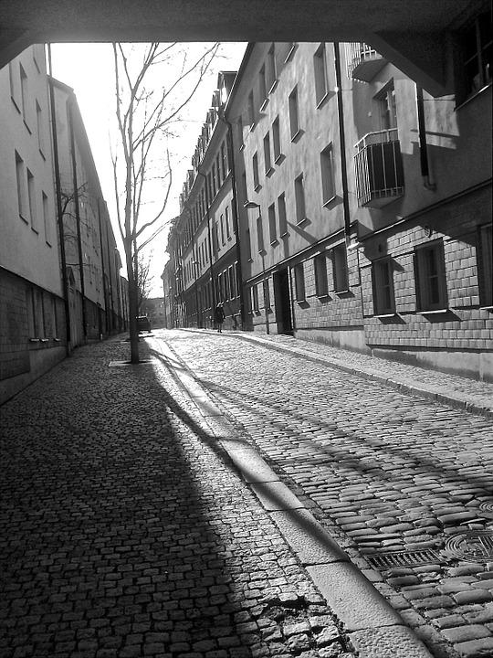 Street, Södermalm, Stockholm