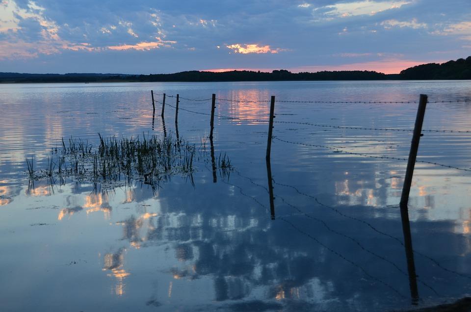 Sövdesjön, Nature, Sunset