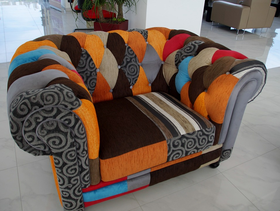 Sofa, Colored, Convenient, Chair, Couch, Comfortable