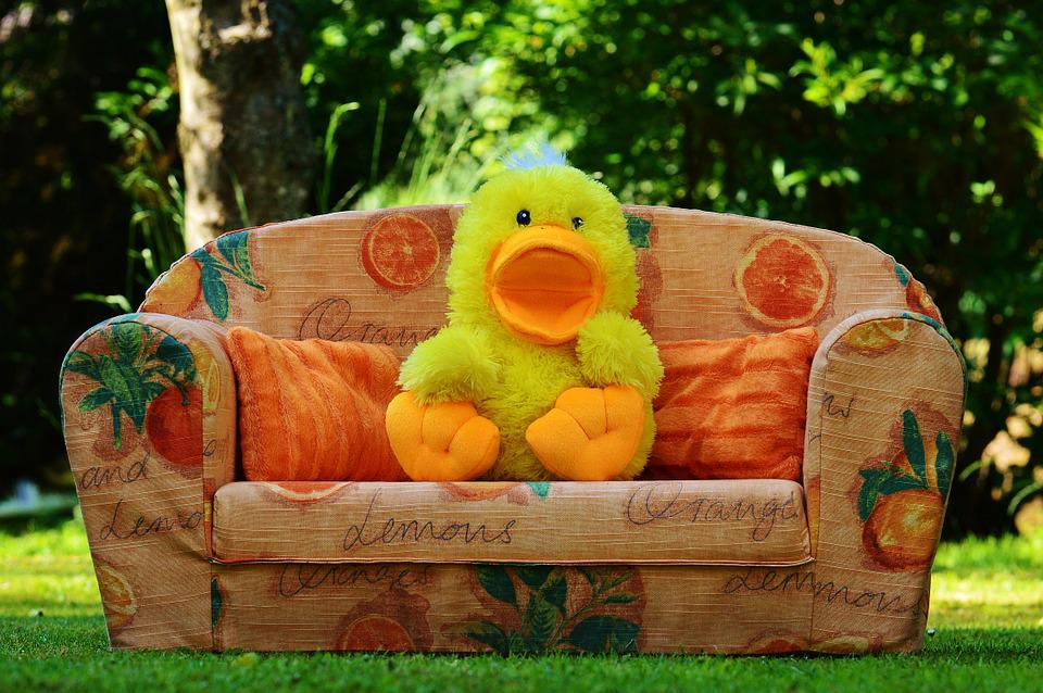 Couch Sofa Duck Funny Soft Toy Toys Children