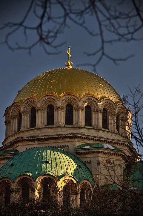 Sofia, Cathedral, Bulgaria, Church, Orthodox