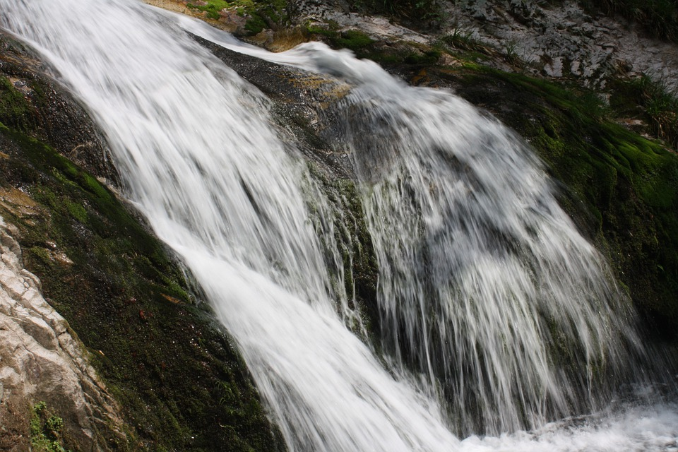 Waterfall, Soft, Strong, Rock