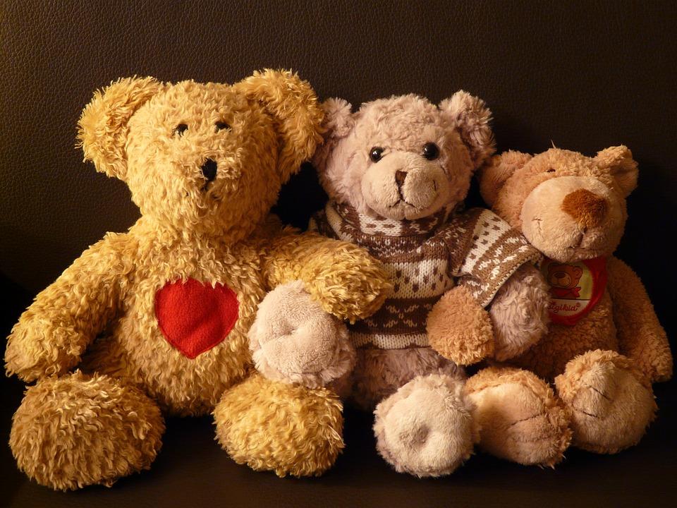 Teddy Bears, Stuffed Animals, Teddy Bear, Soft, Fluffy