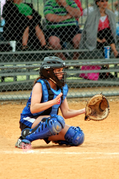 Softball, Catcher, Female, Competition, Ballgame, Sport
